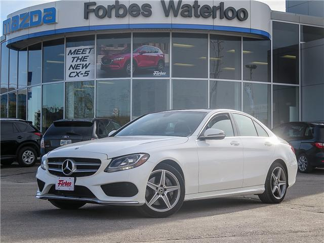 2017 Mercedes-Benz C-Class Base (Stk: W2182) in Waterloo - Image 1 of 29