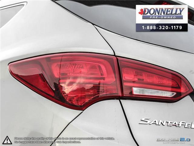 2017 Hyundai Santa Fe Sport 2.4 SE (Stk: CLKUR2063) in Kanata - Image 11 of 27