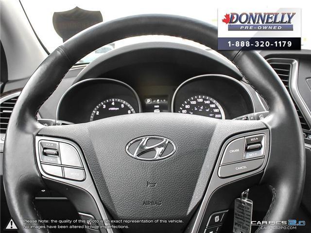 2017 Hyundai Santa Fe Sport 2.4 SE (Stk: CLKUR2063) in Kanata - Image 14 of 27