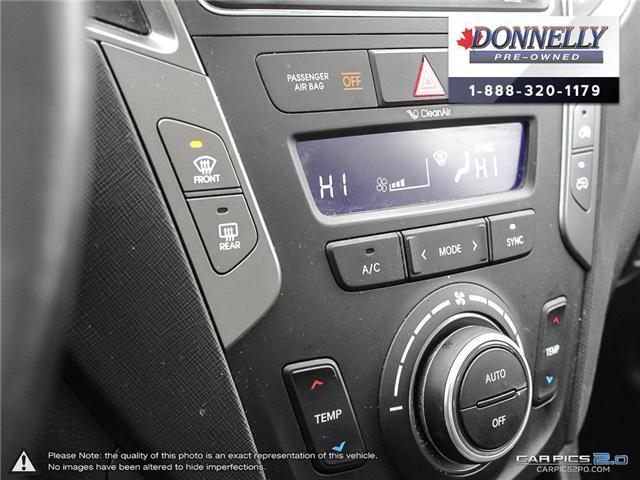 2017 Hyundai Santa Fe Sport 2.4 SE (Stk: CLKUR2063) in Kanata - Image 20 of 27