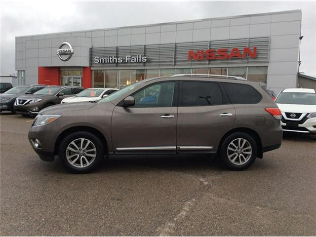 2014 Nissan Pathfinder SL (Stk: 17-513A) in Smiths Falls - Image 1 of 13