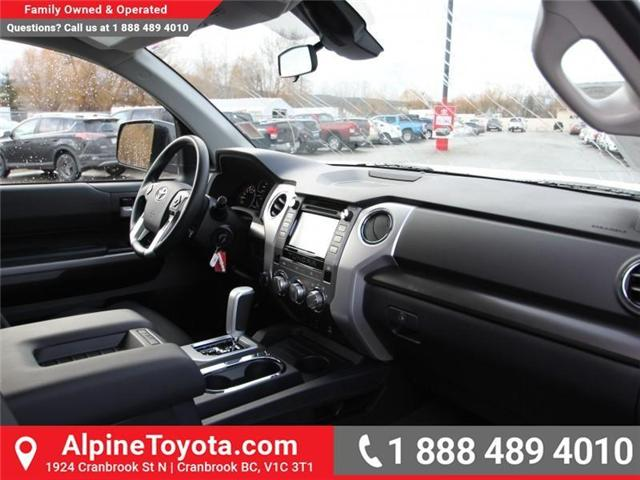 2018 Toyota Tundra SR 4.6L V8 (Stk: X075048) in Cranbrook - Image 11 of 14
