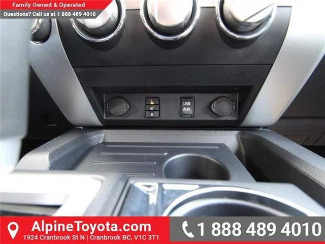 2018 Toyota Tundra SR 4.6L V8 (Stk: X075048) in Cranbrook - Image 14 of 14