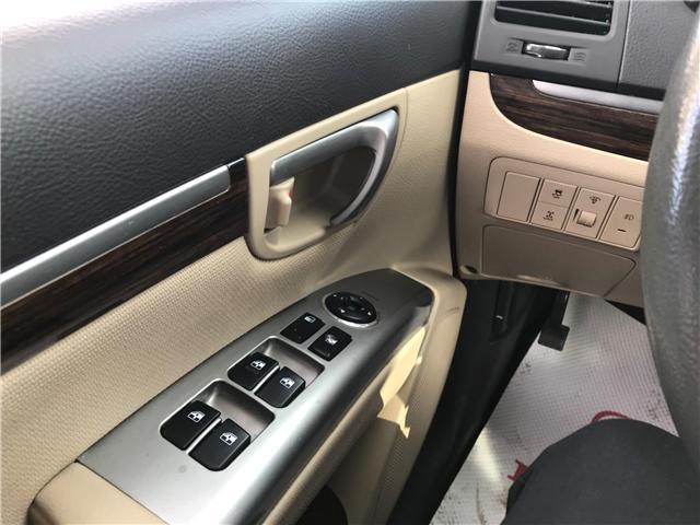 2010 Hyundai Santa Fe GL 3.5 Sport (Stk: B1981A) in Lethbridge - Image 18 of 21