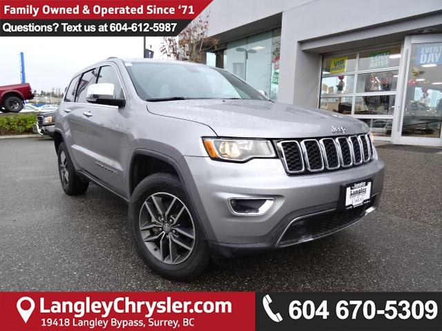 2017 Jeep Grand Cherokee Limited (Stk: EE887320) in Surrey - Image 1 of 29