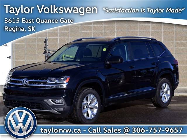 2018 Volkswagen Atlas 3.6 FSI Highline (Stk: 180219) in Regina - Image 1 of 44