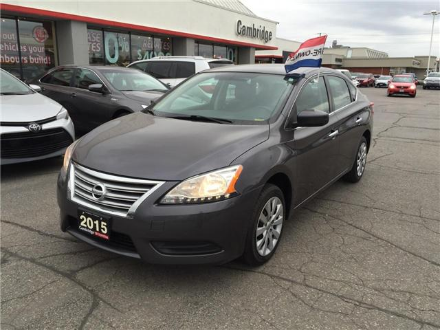 2015 Nissan Sentra  (Stk: 1712341) in Cambridge - Image 2 of 10
