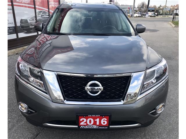 2016 Nissan Pathfinder SV (Stk: 372) in Toronto - Image 2 of 15
