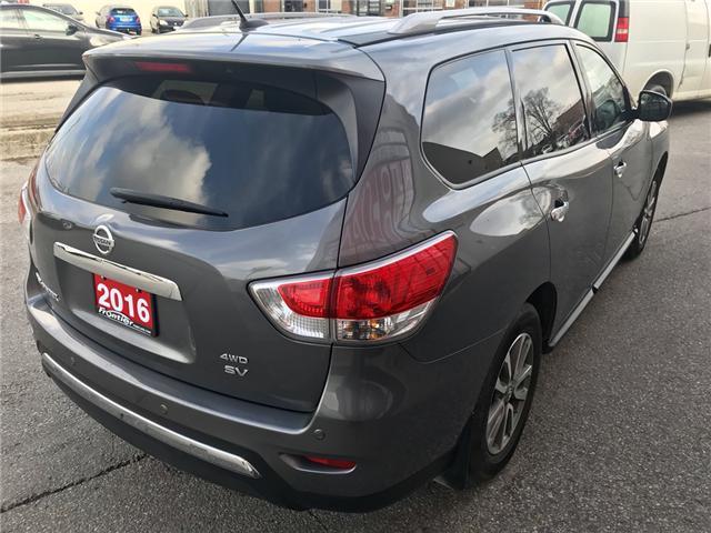 2016 Nissan Pathfinder SV (Stk: 372) in Toronto - Image 4 of 15