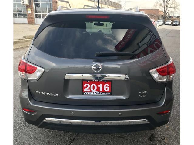 2016 Nissan Pathfinder SV (Stk: 372) in Toronto - Image 5 of 15