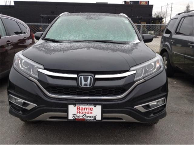 2015 Honda CR-V Touring (Stk: U15946) in Barrie - Image 2 of 6