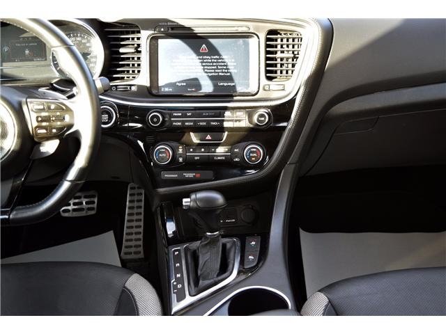 2014 Kia Optima SX Turbo (Stk: P1801801) in Regina - Image 27 of 35