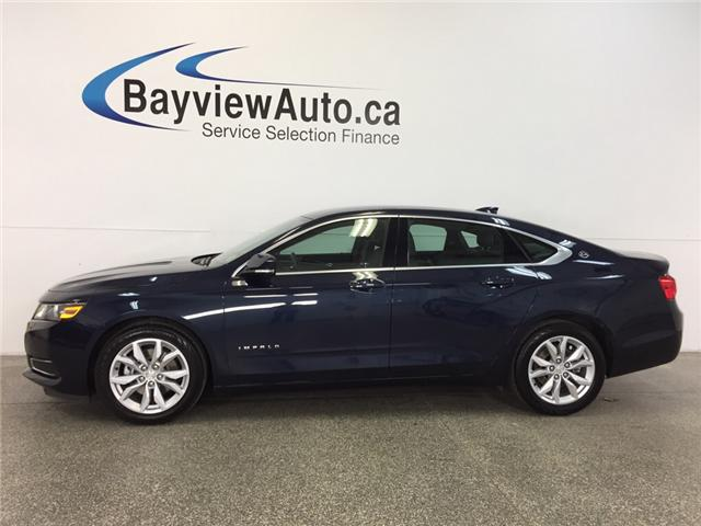 2017 Chevrolet Impala LT- ALLOYS|REM STRT|DUAL AIR|REV CAM|BLUETOOTH! (Stk: 31682) in Belleville - Image 1 of 27