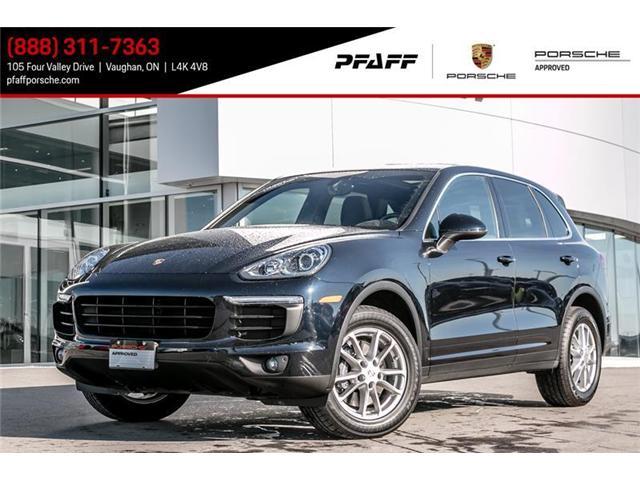 2016 Porsche Cayenne w/ Tip (Stk: U6721) in Vaughan - Image 1 of 18