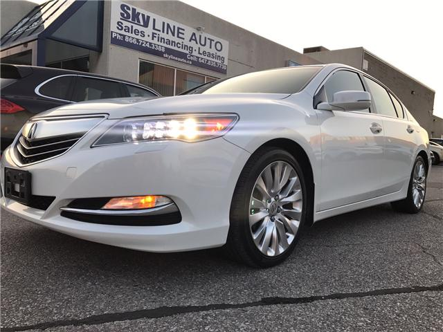 2014 Acura RLX LEATHER|NAVIGATION|BLUETOOTH|BACKUP CAM|SUNROOF|HE (Stk: ) in Concord - Image 1 of 24
