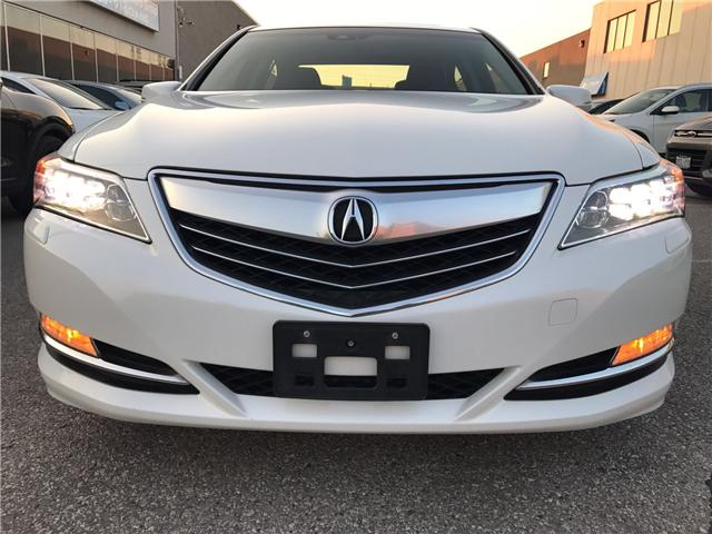 2014 Acura RLX LEATHER|NAVIGATION|BLUETOOTH|BACKUP CAM|SUNROOF|HE (Stk: ) in Concord - Image 2 of 24