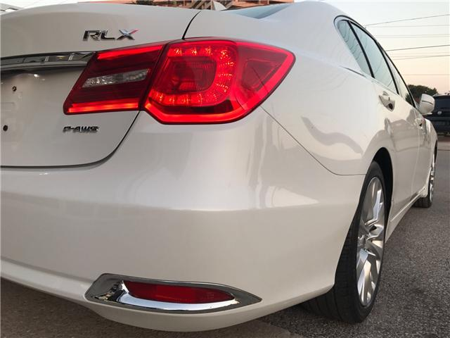 2014 Acura RLX LEATHER|NAVIGATION|BLUETOOTH|BACKUP CAM|SUNROOF|HE (Stk: ) in Concord - Image 6 of 24