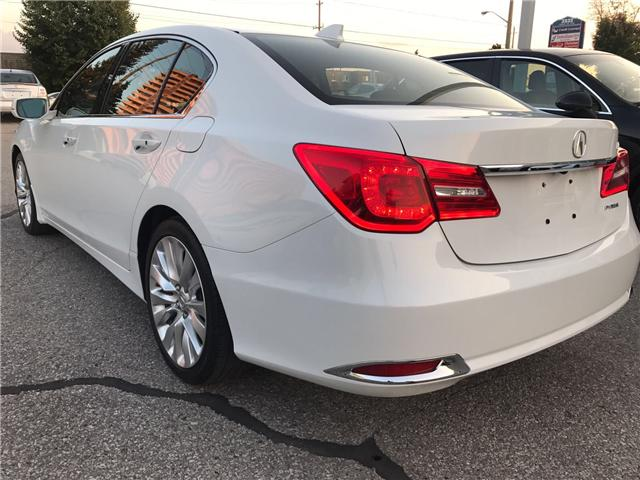 2014 Acura RLX LEATHER|NAVIGATION|BLUETOOTH|BACKUP CAM|SUNROOF|HE (Stk: ) in Concord - Image 7 of 24