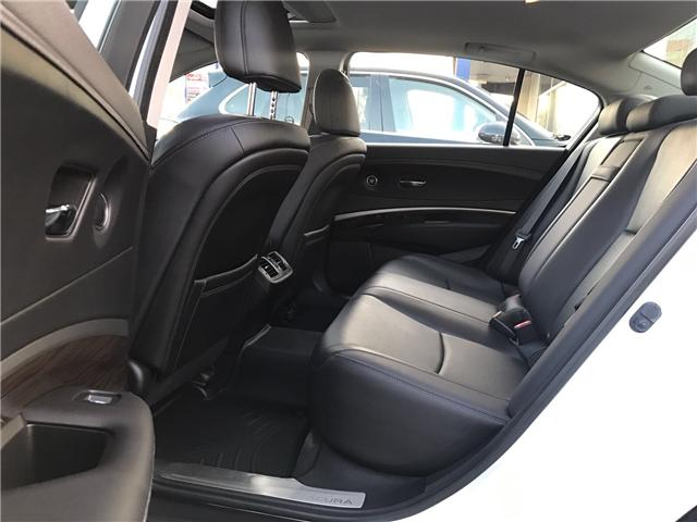 2014 Acura RLX LEATHER|NAVIGATION|BLUETOOTH|BACKUP CAM|SUNROOF|HE (Stk: ) in Concord - Image 11 of 24