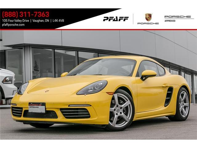 2017 Porsche 718 Cayman  (Stk: U6689) in Vaughan - Image 1 of 14