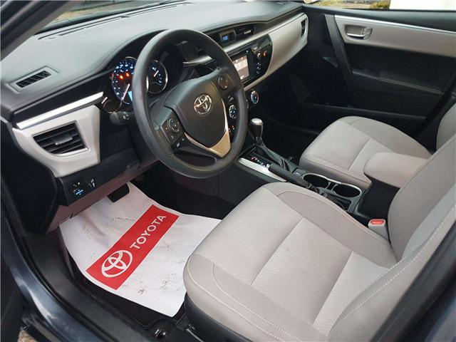 2016 Toyota Corolla LE (Stk: u00621) in Guelph - Image 10 of 27
