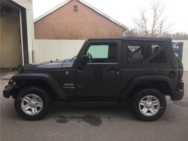 2018 Jeep Wrangler JK Sport (Stk: 11950) in Fort Macleod - Image 2 of 15