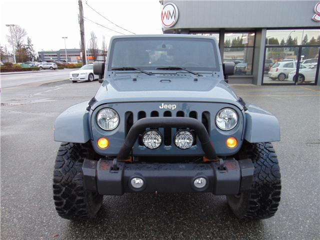 2015 Jeep Wrangler Unlimited Sahara (Stk: 15-518286) in Abbotsford - Image 2 of 15