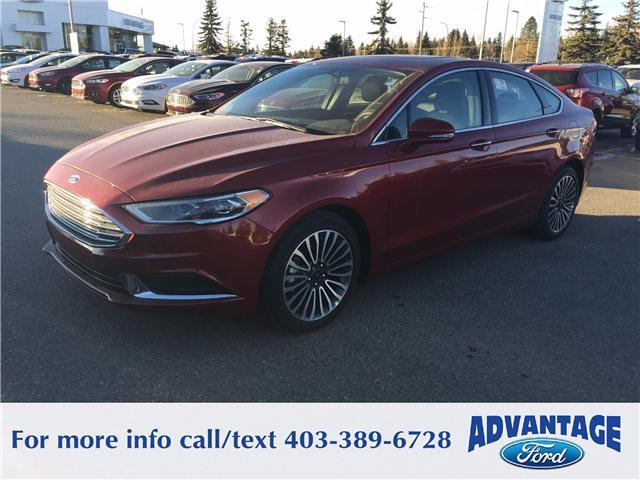 2018 Ford Fusion SE (Stk: J-004) in Calgary - Image 1 of 6