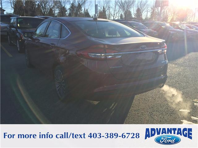 2018 Ford Fusion SE (Stk: J-004) in Calgary - Image 3 of 6