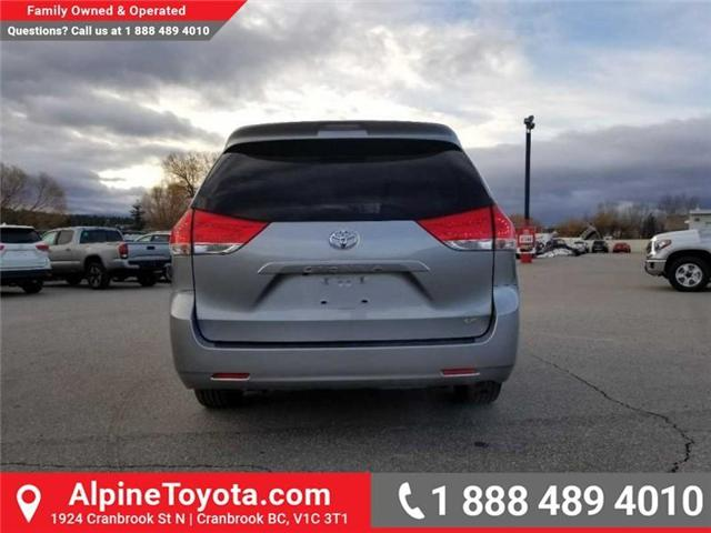 2011 Toyota Sienna LE 8 Passenger (Stk: S470564B) in Cranbrook - Image 4 of 16