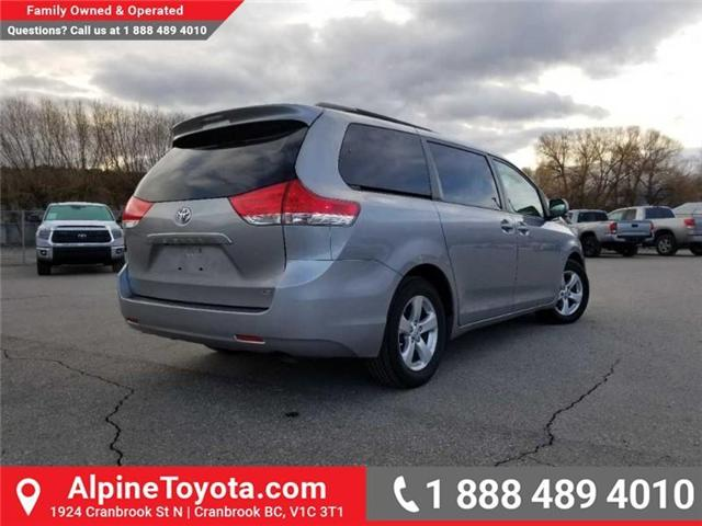 2011 Toyota Sienna LE 8 Passenger (Stk: S470564B) in Cranbrook - Image 5 of 16