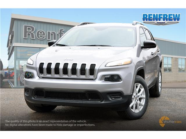 2018 Jeep Cherokee Sport (Stk: J057) in Renfrew - Image 1 of 20