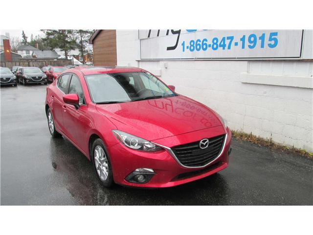 2015 Mazda Mazda3 GS (Stk: 171817) in North Bay - Image 1 of 14