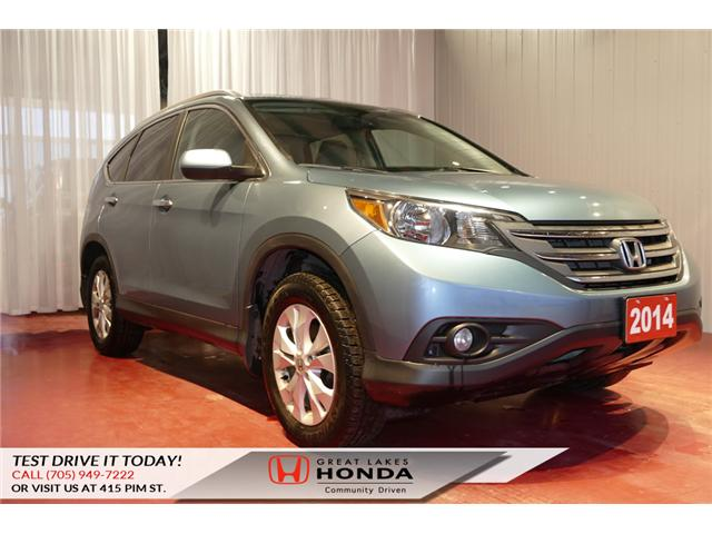 2014 Honda CR-V Touring (Stk: H5693B) in Sault Ste. Marie - Image 1 of 22