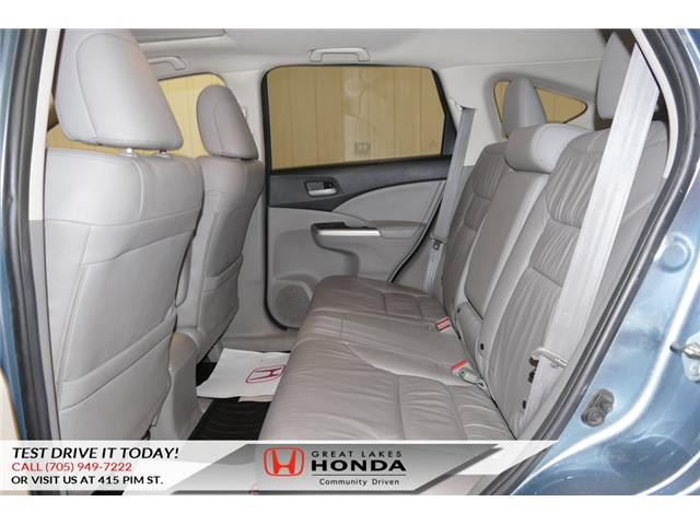 2014 Honda CR-V Touring (Stk: H5693B) in Sault Ste. Marie - Image 11 of 22