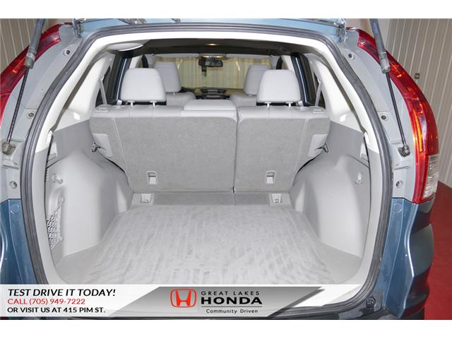 2014 Honda CR-V Touring (Stk: H5693B) in Sault Ste. Marie - Image 13 of 22