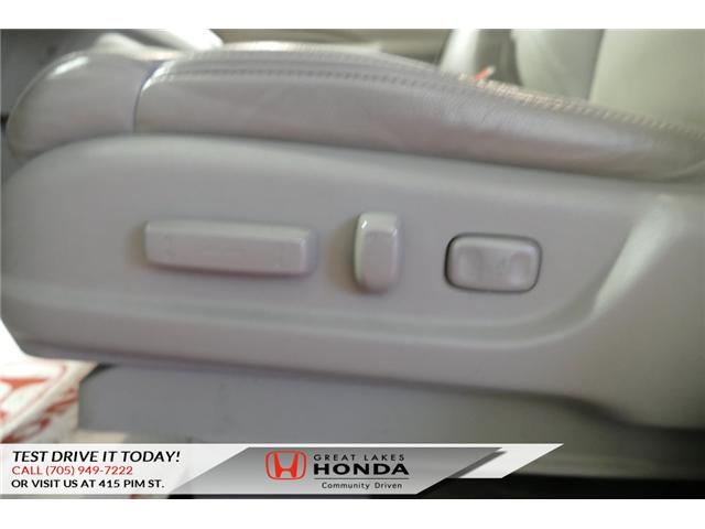 2014 Honda CR-V Touring (Stk: H5693B) in Sault Ste. Marie - Image 20 of 22