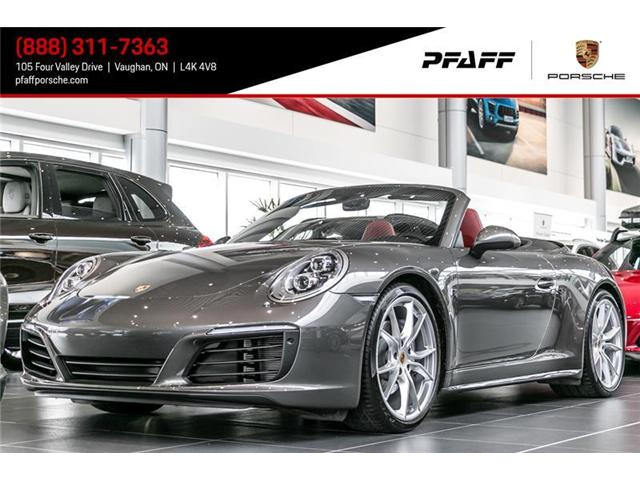 2017 Porsche 911 Carrera 4 Cabriolet PDK (Stk: P11194) in Vaughan - Image 1 of 15