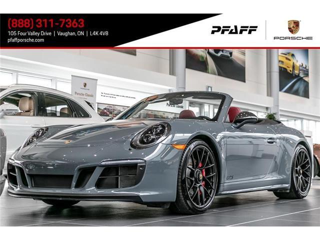 2017 Porsche 911 Carrera 4 GTS Cabriolet PDK (Stk: P11276) in Vaughan - Image 1 of 16