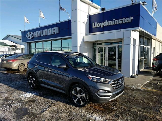 2017 Hyundai Tucson Ultimate (Stk: 7TU4405) in Lloydminster - Image 1 of 5