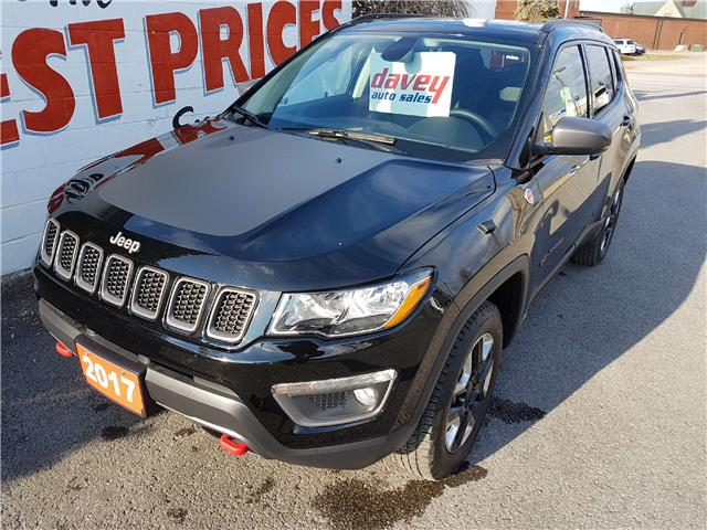 2017 Jeep Compass Trailhawk (Stk: 17-698A) in Oshawa - Image 1 of 17