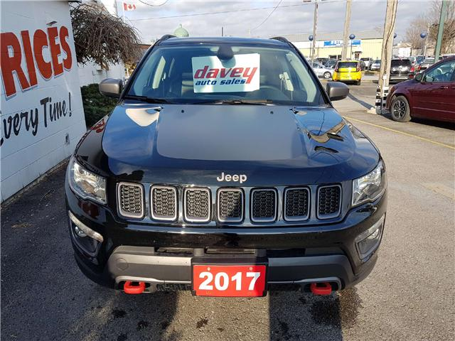 2017 Jeep Compass Trailhawk (Stk: 17-698A) in Oshawa - Image 2 of 17