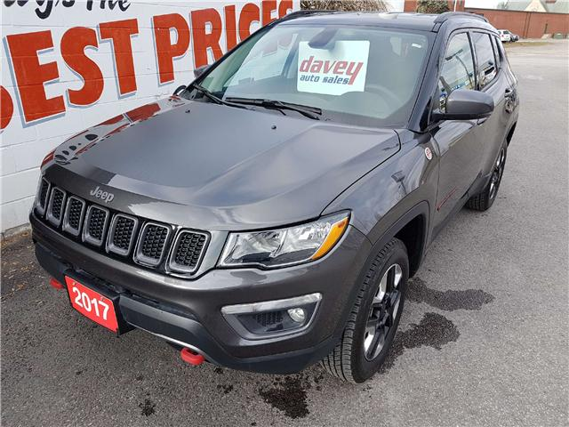 2017 Jeep Compass Trailhawk (Stk: 17-697A) in Oshawa - Image 1 of 17