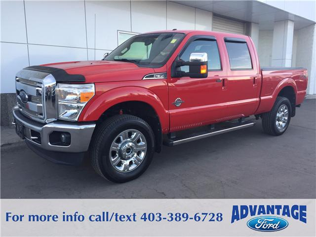 2012 Ford F-350 Lariat (Stk: H-1954A) in Calgary - Image 1 of 10