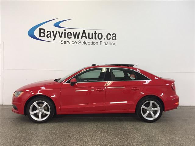 2015 Audi A3 KOMFORT- TDI|SUNROOF|HEATED LEATHER|CRUISE! (Stk: 31751) in Belleville - Image 1 of 25