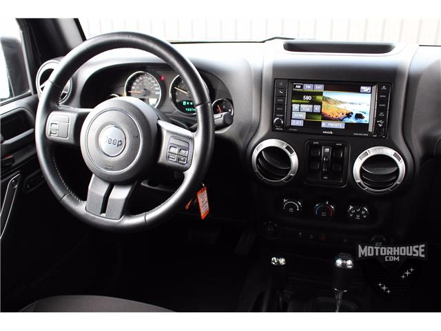 2015 Jeep Wrangler Unlimited Sahara (Stk: 1613) in Carleton Place - Image 23 of 35