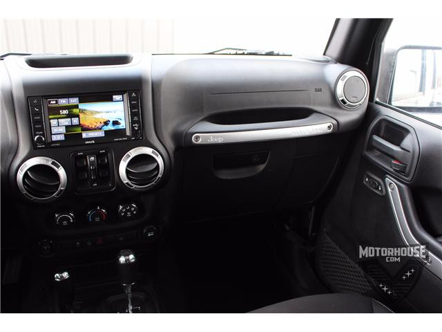 2015 Jeep Wrangler Unlimited Sahara (Stk: 1613) in Carleton Place - Image 24 of 35