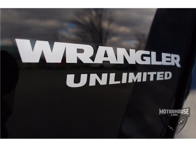 2015 Jeep Wrangler Unlimited Sahara (Stk: 1613) in Carleton Place - Image 21 of 35