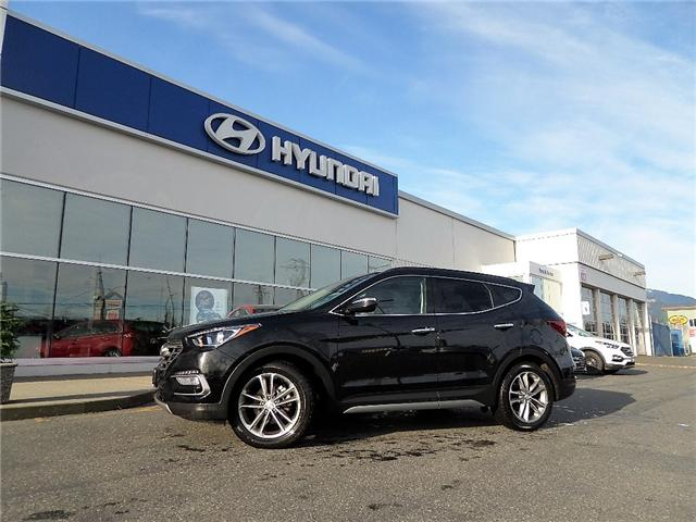 2017 Hyundai Santa Fe Sport 2.0T Limited (Stk: H17-0155P) in Chilliwack - Image 1 of 10
