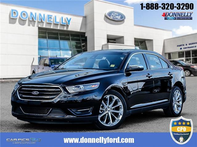 2017 Ford Taurus Limited (Stk: DUR5540) in Ottawa - Image 1 of 28